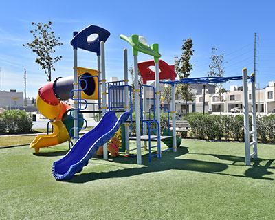 Juegos infantiles fraccionamiento en Saltillo Triana Residencial